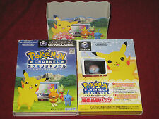 *Complete* Nintendo GameCube POKEMON CHANNEL EXTENDED PACK NTSC-J Japan Pikachu