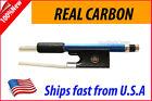 New Genuine Carbon Fiber Violin Bow 4/4 --BLUE