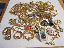HUGE Lot 100+ Pieces Jewelry Making Castings Findings LOT #553