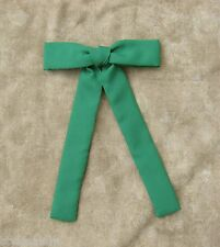 Colonel tie western bow tie square dance green clip-on kelly emerald NEW