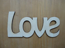 LOVE  Wooden Words/Letters Personalised Names Wedding/Home/Gift letters NAMES