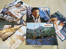 LE BOUNTY ! mel gibson   jeu 12 photos cinema lobby card pirates