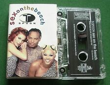 T-Spoon Sex On The Beach 2 Mixes Cassette Tape Single - TESTED