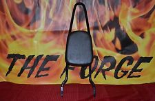 "Harley Sissy bar upright WITH PAD universal fit 11"" wide"