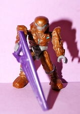 HALO MEGA BLOKS SERIES 2 COPPER ELITE FIGURE LOOSE