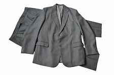 'Bantin the Tailor' Grey Heavy 2 Piece Suit - Size UK 44 / W42 / L32