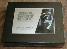 STAR WARS TRILOGY SPECIAL EDITION (limited edition collector's vhs set)  SEALED!