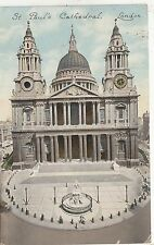 BF32196 st paul s cathedral london  uk  front/back image