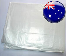 Clear Plastic Painting Protection Drop Sheet Dust Furniture Cover 3.6x2.7m Film