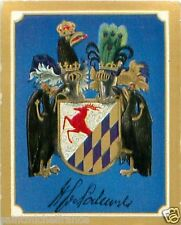 HEINRICH GRAF VON PODEWILS Frederick the Great PRUSSIA Coat of Arms CHROMO 30s
