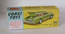 Repro Box Corgi Nr.224 Bentley Continental Sport Saloon