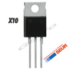 10X Regulador de Tension L7805CV 5V 1A 1000mA TO-220