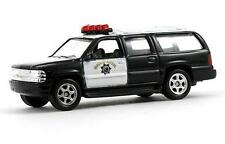 """Welly 2001 Chevrolet Suburban Highway Patrol SUV vehicle  1:60 scale 3"""" long"""