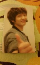Shinee onew lucifer official photocard card Kpop K-pop shipped in toploader