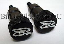 Suzuki GSXR 750 1000 Black Seat Thumb Bolts (081507-005B)