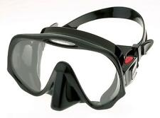 Atomic Aquatics Frameless Mask for   Diving and Snorkel - Regular Black
