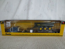 DCP 1:64 Floyd Gibbons/Husky Spreader Kenworth W900 Lowboy Tractor Trailer NEW!!