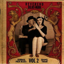 REVEREND BEAT MAN SURREAL FOLK BLUES GOSPEL TRASH VOL 2 LP VINYLE NEUF NEW