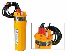 Submersible Water Well Pump -Solar Powered - For SCH40 4 Inch Well Pipe