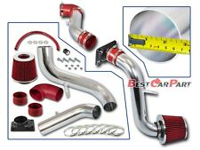 BCP RED 00-05 Mitsubishi Eclipse 2.4/3.0L Cold Air Intake Inductio Kit + Filter