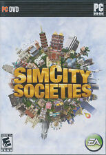 SIM CITY SOCIETIES SimCity Society PC Game NEW Vista OK