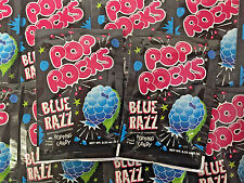 Pop Rocks Blue Razz Raspberry 24 COUNT Classic Popping Candy FREE SHIPPING
