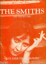 The SMITHS song book Guitar Tab Bass Louder than Bombs SCORE Morrissey MARR