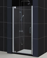 "DREAMLINE ELEGANCE 27"" - 29"" SHOWER DOOR WITH HANDLE WITH 3/8 GLASS"