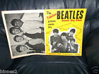 THE BEATLES OFFICIAL 1963 FIRST SHEET MUSIC SONG BOOK LYRICS AND MUSICAL NOTES