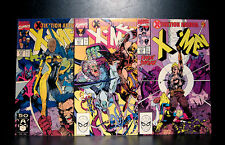 COMICS: Marvel: Uncanny X-Men #270-272 (1990s) set (3 bks) - RARE (wolverine)