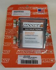 NEW  Moose Racing Enduro Side Load Route Sheet Holder FREE SHIP DRZ RMZ CRF KLR