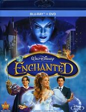 Enchanted [WS] [2 Discs] [Blu-ray/DVD] (2011, REGION A Blu-ray New) BLU-RAY/WS