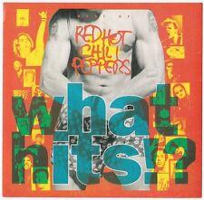 RED HOT CHILI PEPPERS       Sticker carré  édité dans les années 1990   RHCP
