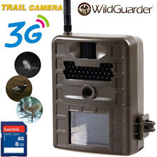 8GB MMS GPRS Trail Hunting Game Camera WildGuarder WG-1011G Security 3G Network