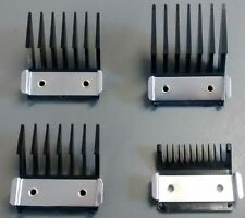 WAHL Metal Backed Clipper Attachment Combs - Comes in Sizes 1-4
