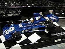 F1 TYRRELL Ford Cosworth 007 1975 Scheckter #3 elf  limited Minichamps 1:43