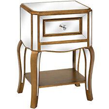 Venetian specchio side table con cassetto