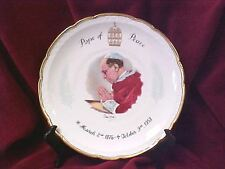 Pope Pius XII Commemorative Plate