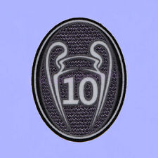 UEFA Champions League 10 Times Trophy (Dark grey) 2014-2015 Soccer Patch/Badge