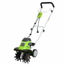 GreenWorks 27072 Corded Electric 8 Amp Cultivator