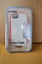 Incase iPhone 5 / 5s Pro Slider Case CL69045 White / Raspberry