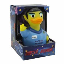 Mr. Squawk Alien Vulcan CelebriDuck Rubber Duck Star Trek Spock New in Box