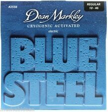Juego de cuerdas para guitarra electrica Dean Markley 2556 Regular Blue Steel