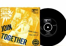 THE WHO 7'' PS Join Together Portugal Track 2094 102 very rare Portuguese 45!!