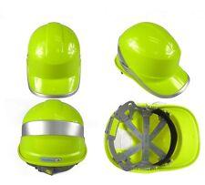 Deltaplus venitex Construction Ratchet Hard Hat / Safety Helmet,Diamond V,Yellow