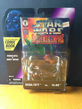 Star Wars Power of the Force Shadows of the Empire: Boba Fett & IG-88 Comic Pack