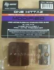 Pro-Mate One Hittaz Zero Gap Modified Square Blades fits Andis Outliner 2 II