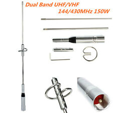 44cm Dual Band UHF/VHF 144/430MHz 150W Car Radio Mobile//Station Antenna NL-770S