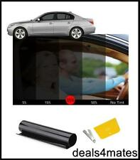 CAR HOME OFFICE WINDOW TINT FILM TINTING  BLACK  SMOKE 35% 76cm x 3M NEW