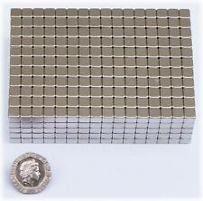 10 x Neodymium CUBES Magnets -  8  x 8 x 8mm - VERY STRONg - NEW